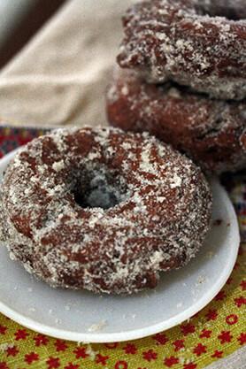 Masala Chai-Spiced Apple Cider Donut Recipe