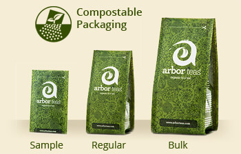 Backyard Compostable Tea Packaging