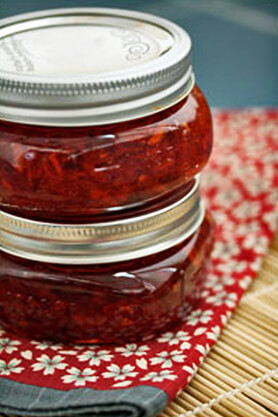 Holiday Spice-y Red Pepper Relish Recipe