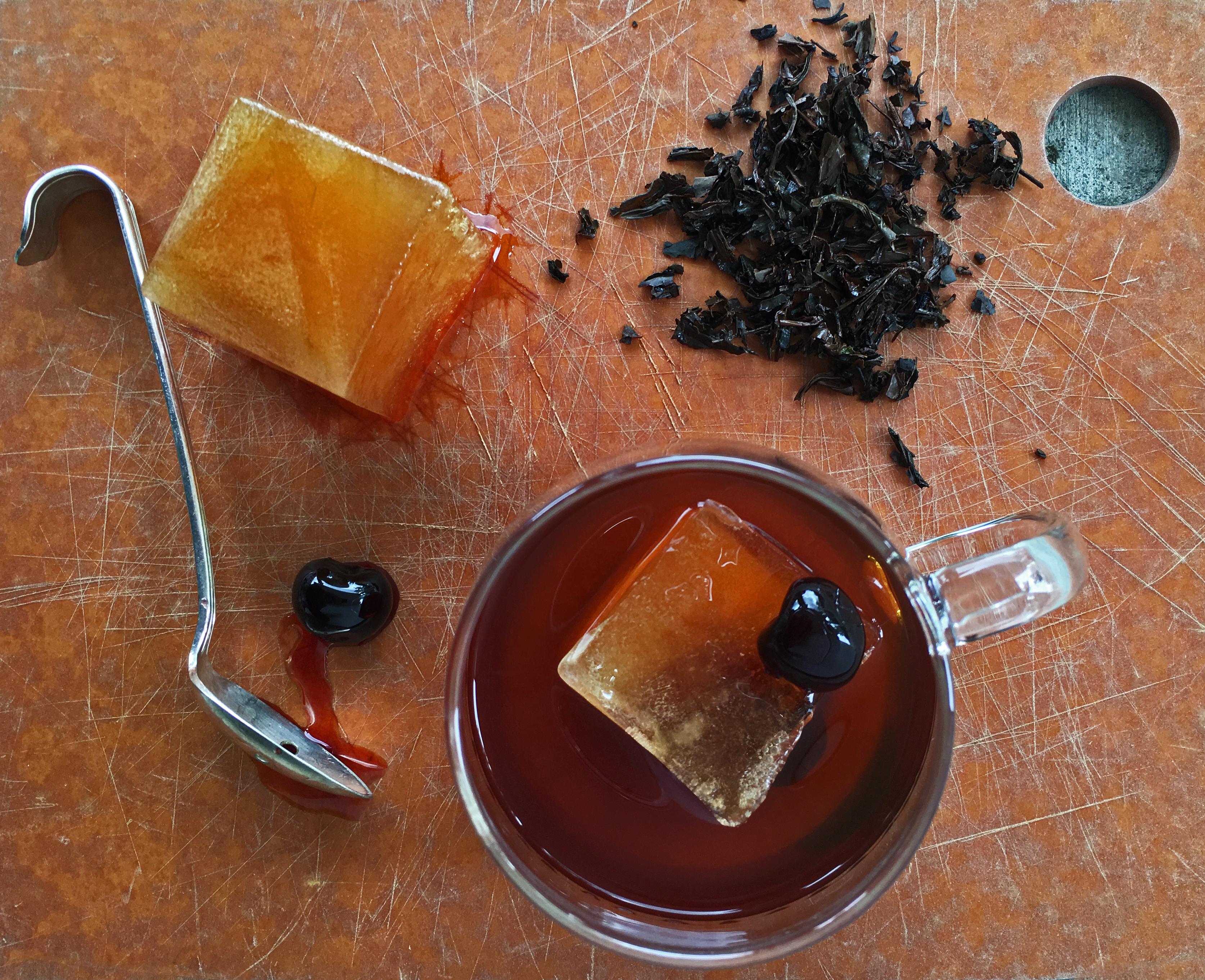 Smoky Tea Infused Manhattan