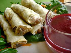 Smoky Lapsang Souchong Spring Rolls Recipe