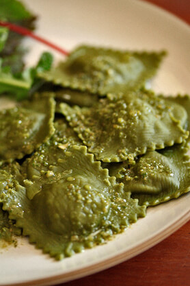 Matcha Ravioli Recipe