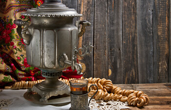The Samovar and Traditional Russian Tea